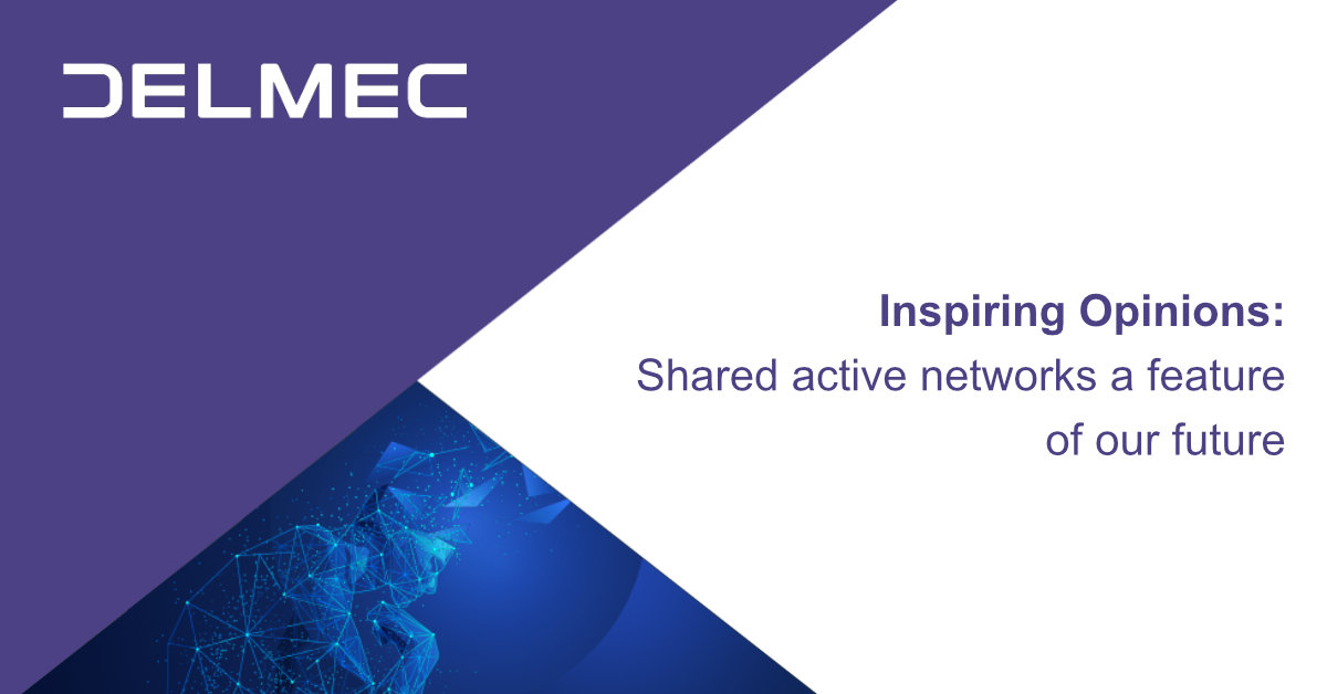 Inspiring Opinions: Shared active networks a feature of our future