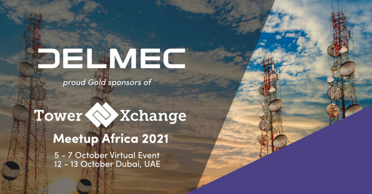 Delmec to Take to the Stage at TowerXchange Meetup Africa 2021